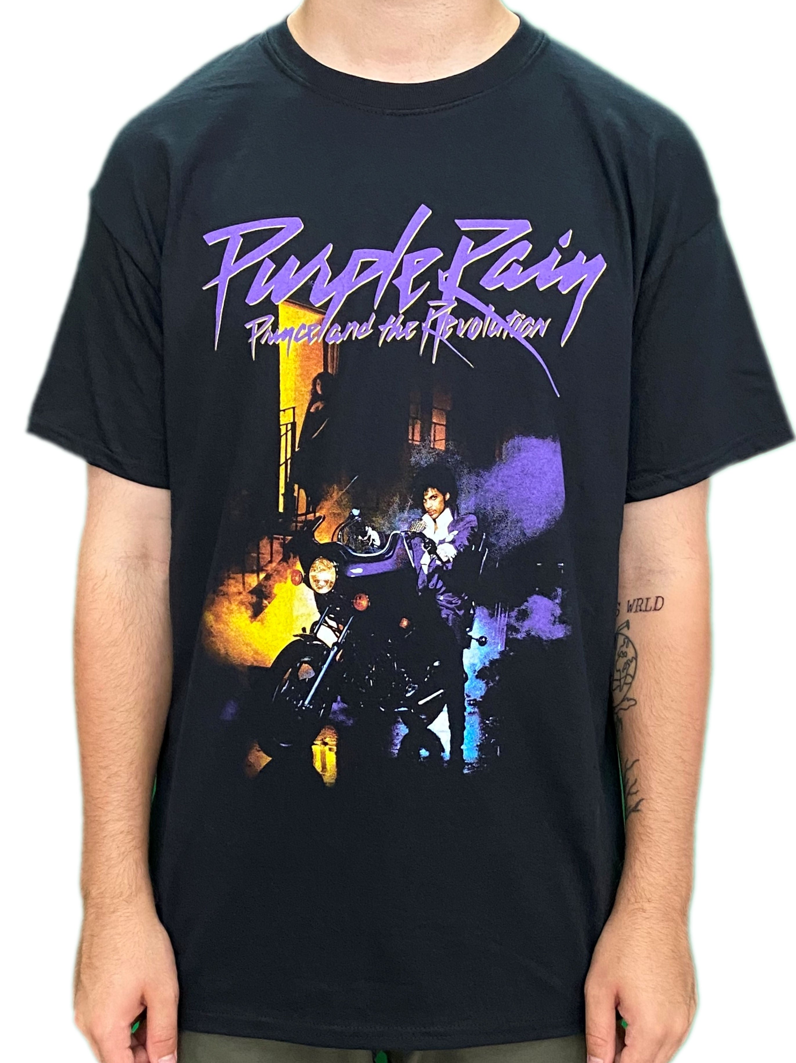 Prince & The Revolution Purple Rain Unisex Official T-Shirt Brand New 2020