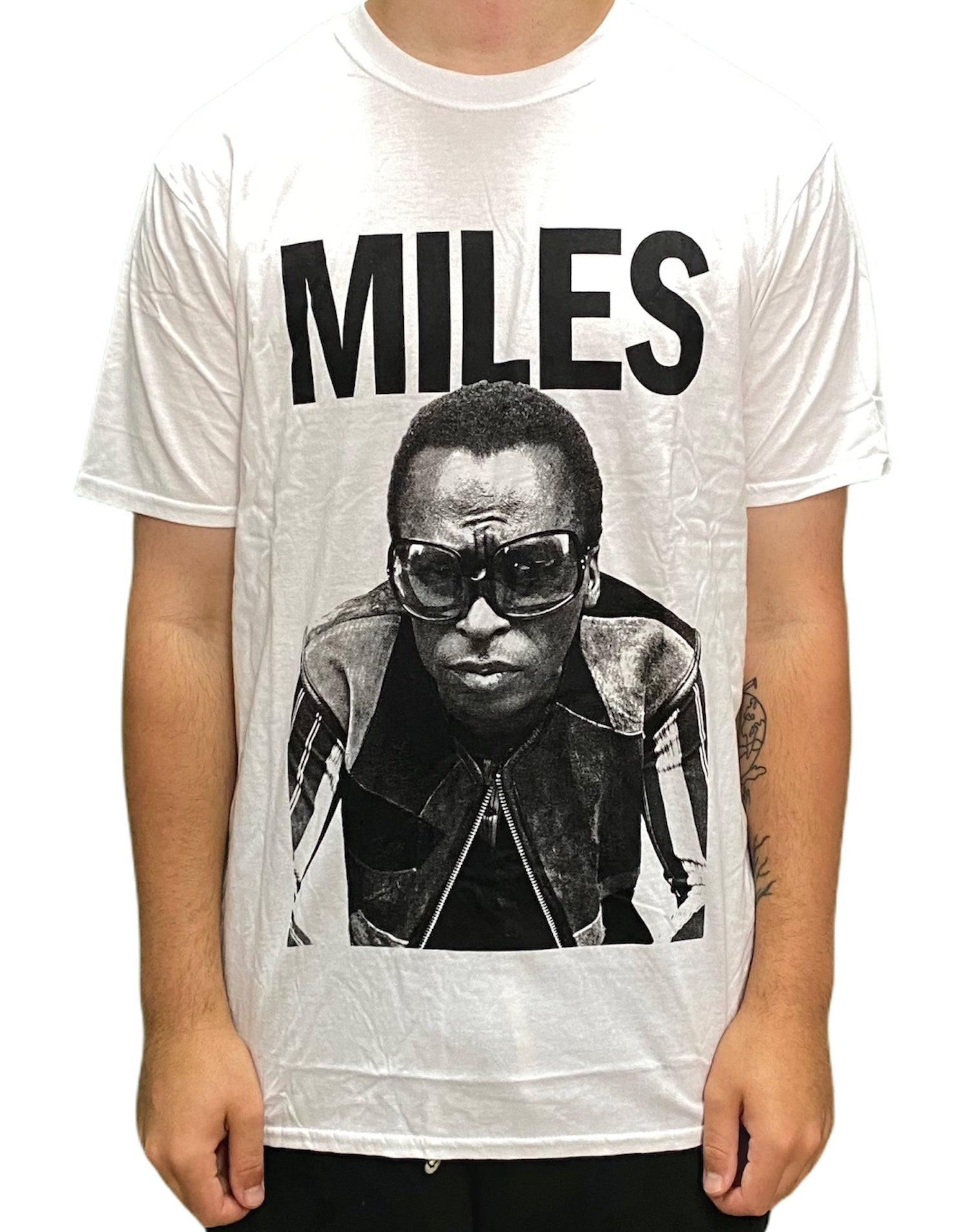 Miles Davis 'Miles' Unisex Official T Shirt Brand New Various Sizes Prince
