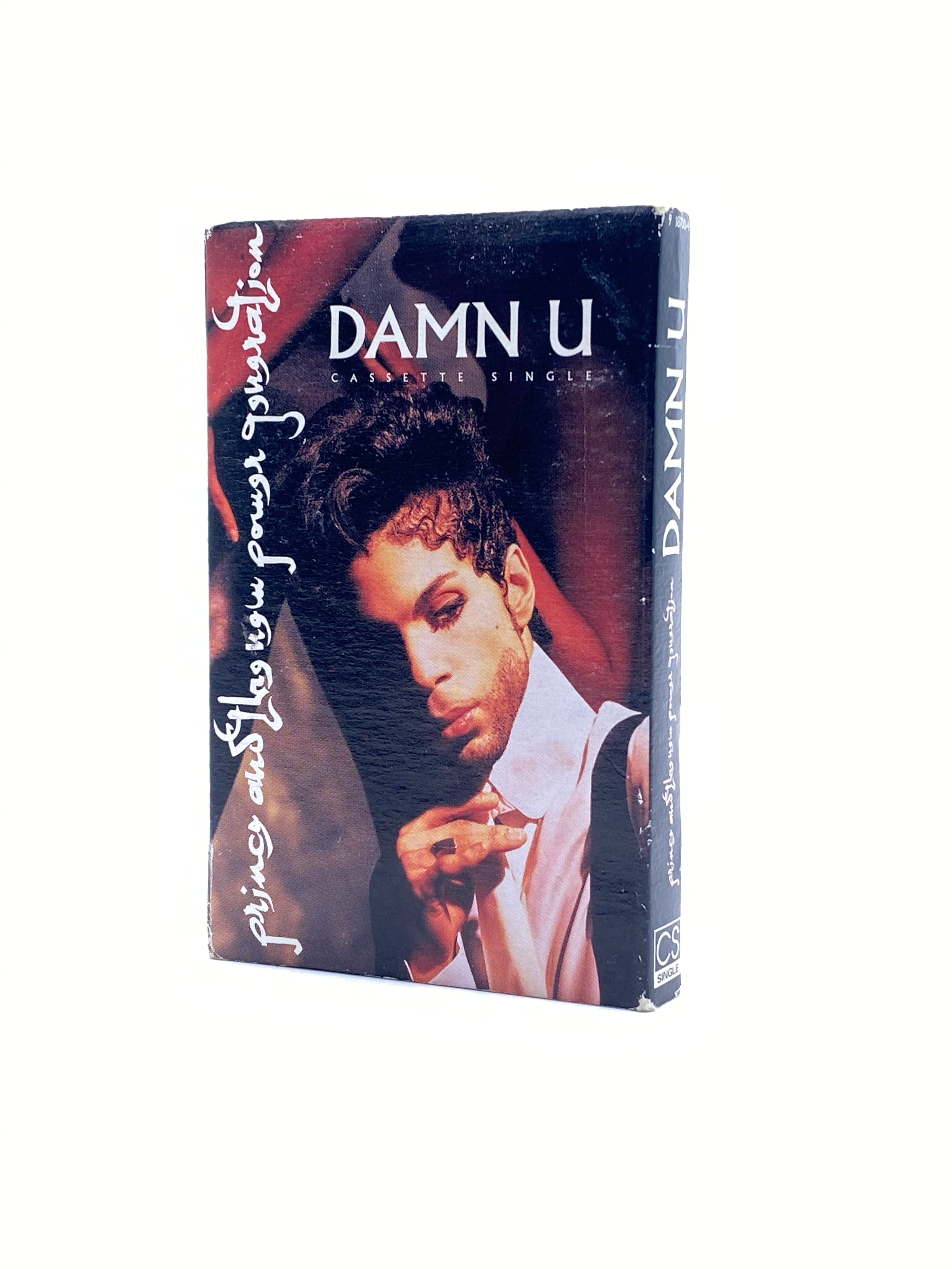 Prince And The NPG DAMN U 2 Whom It May Concern Original Cassette Single Tape USA IB