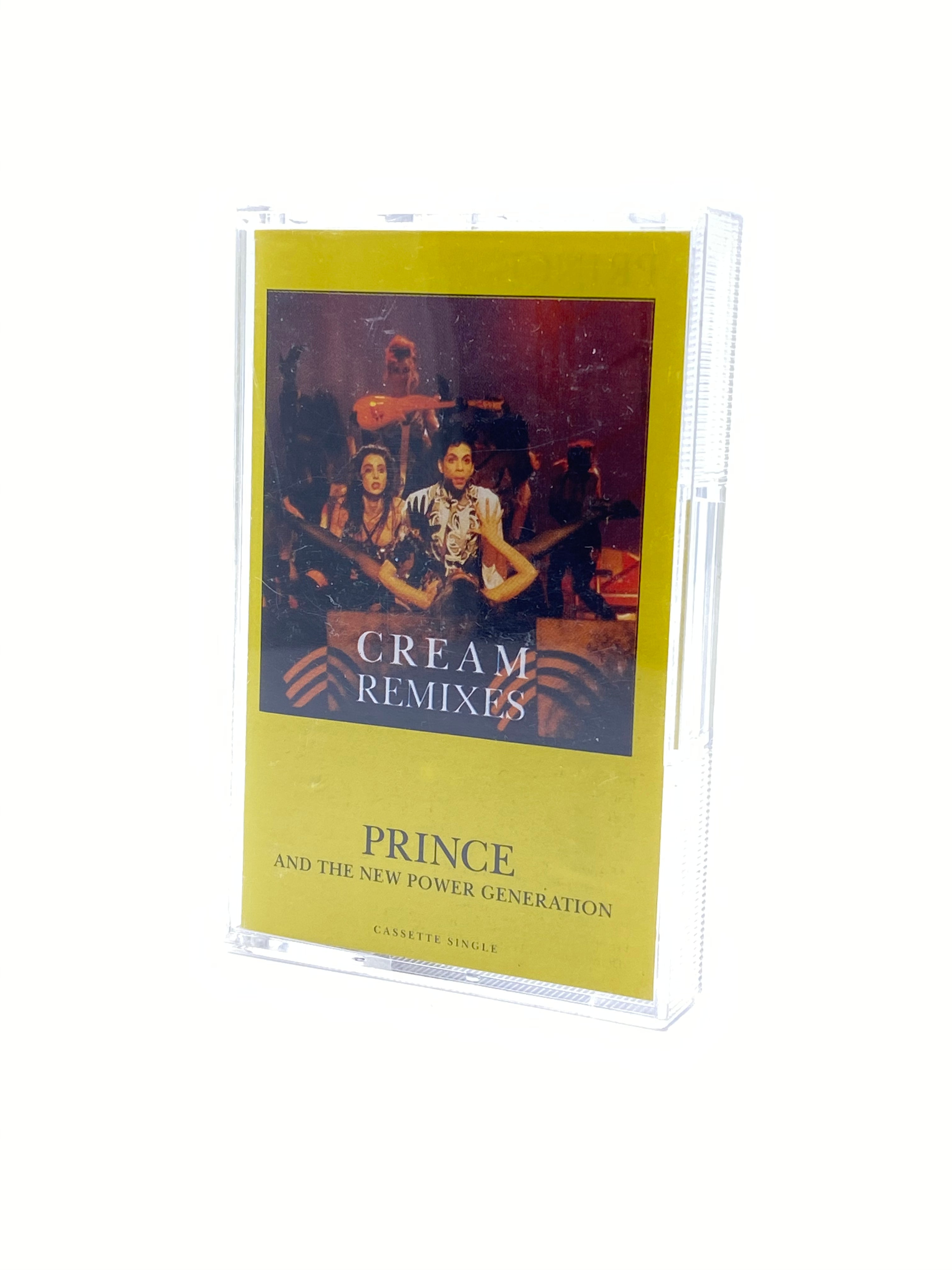Prince & The NPG Cream Remixes Original UK Cassette Tape Single IB