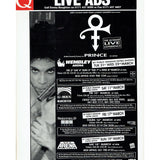 Prince Q Magazine 103 April 1995 2 Page Article + Full Page Advert