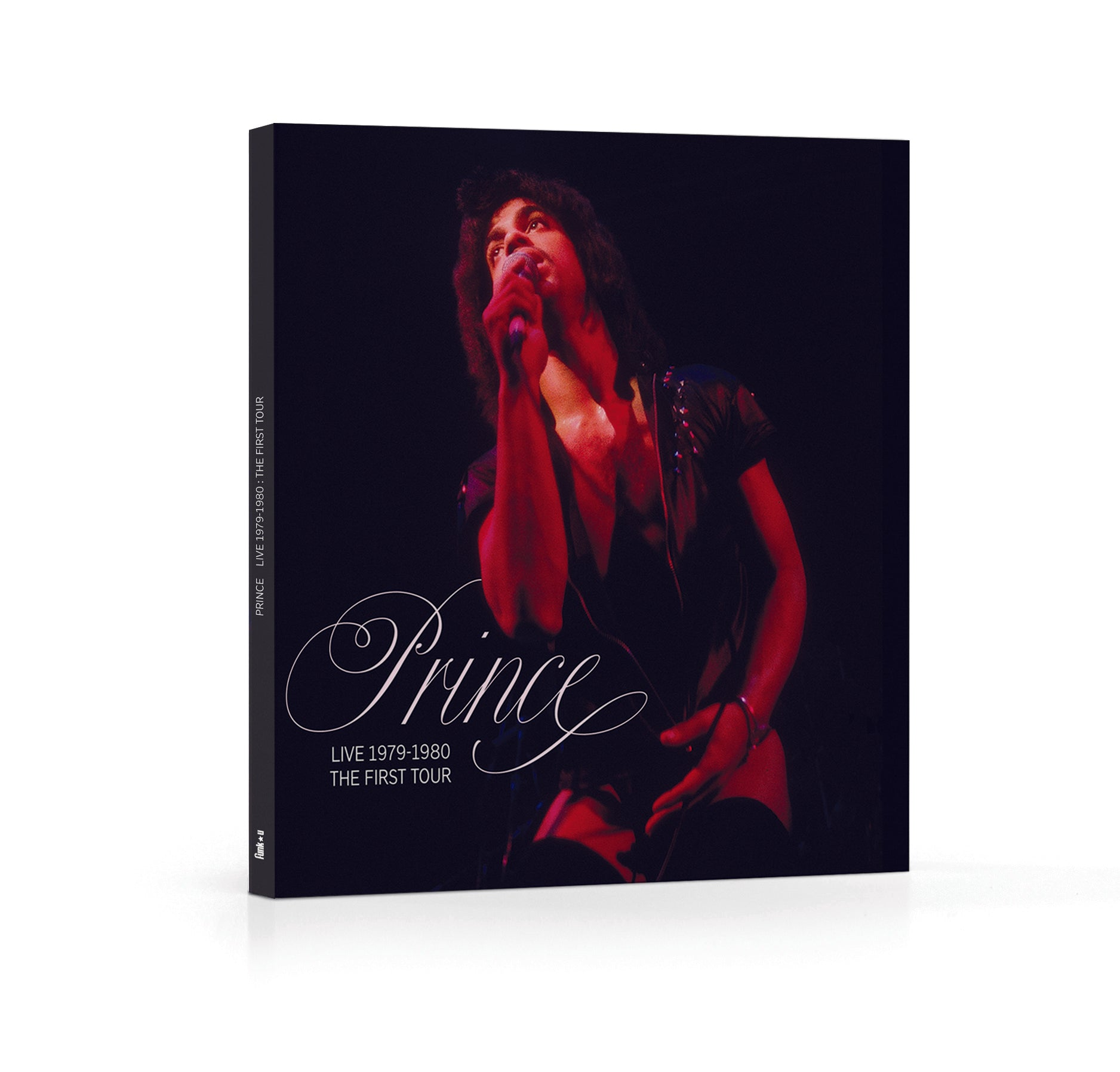 Prince Live 1979-1980 The First Tour Beautiful Softback Book Very Limited