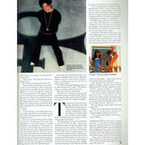 Prince Q Magazine Complete 144 September 1988 4 Page Article