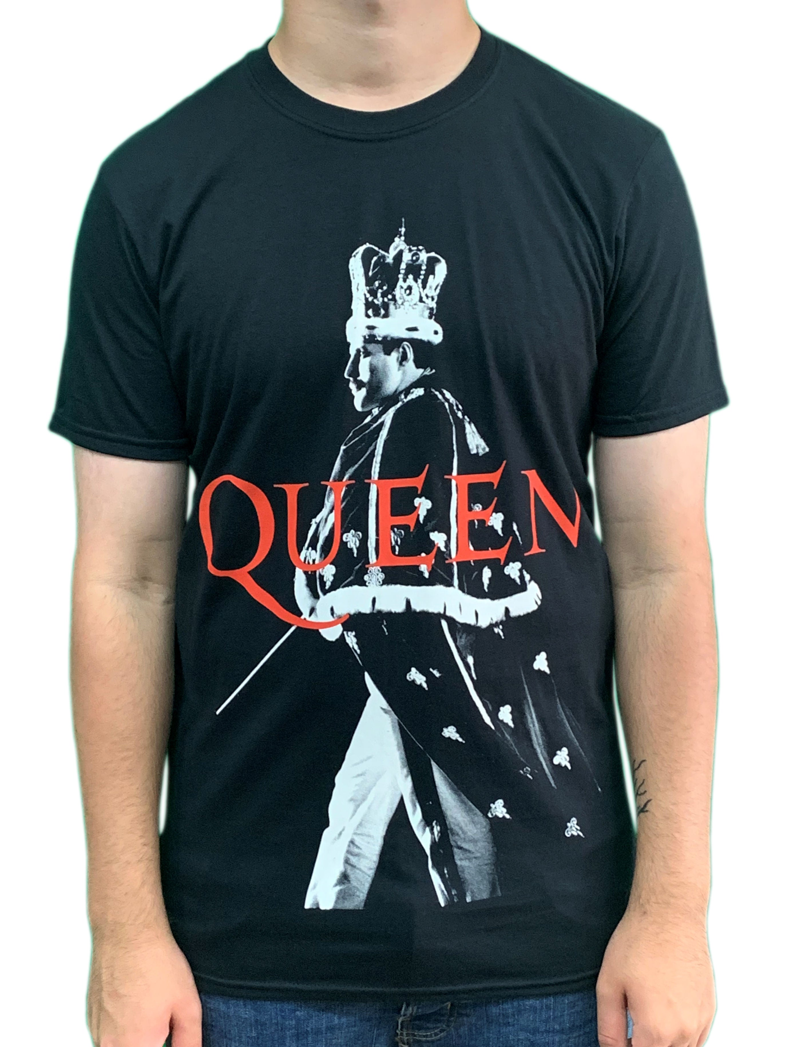 Queen Crown Unisex Official T Shirt Brand New Various Sizes Freddie Mercury