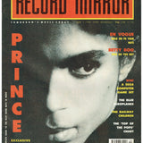 Prince Record Mirror Magazine June 1990 Cover And 3 Page Article