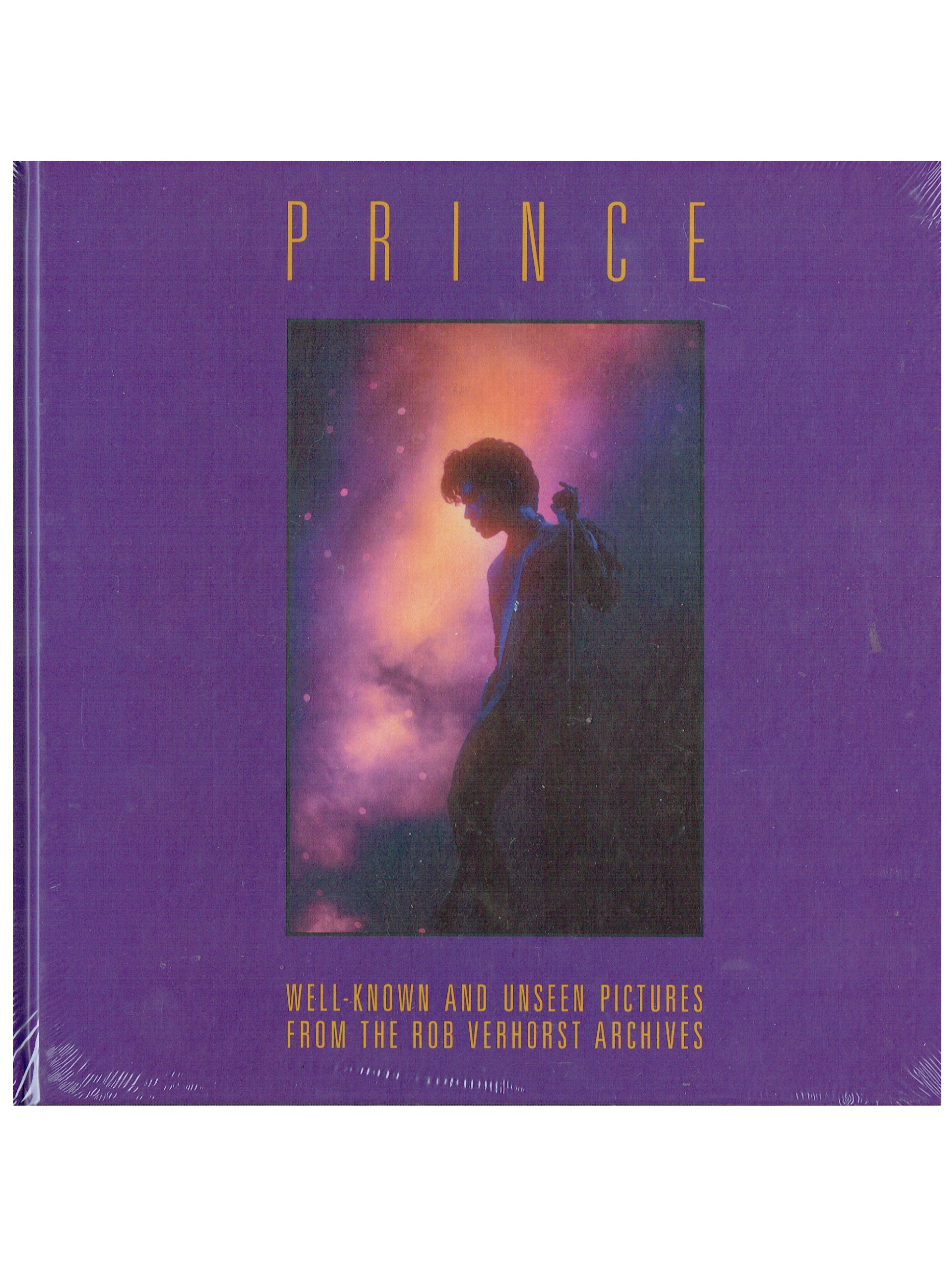 Prince Pictures By Rob Verhorst Hardbacked Book  IN STOCK READY TO SHIP