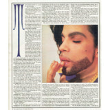 Rolling Stone Magazine October 1990 Prince Talks Neal Karlen