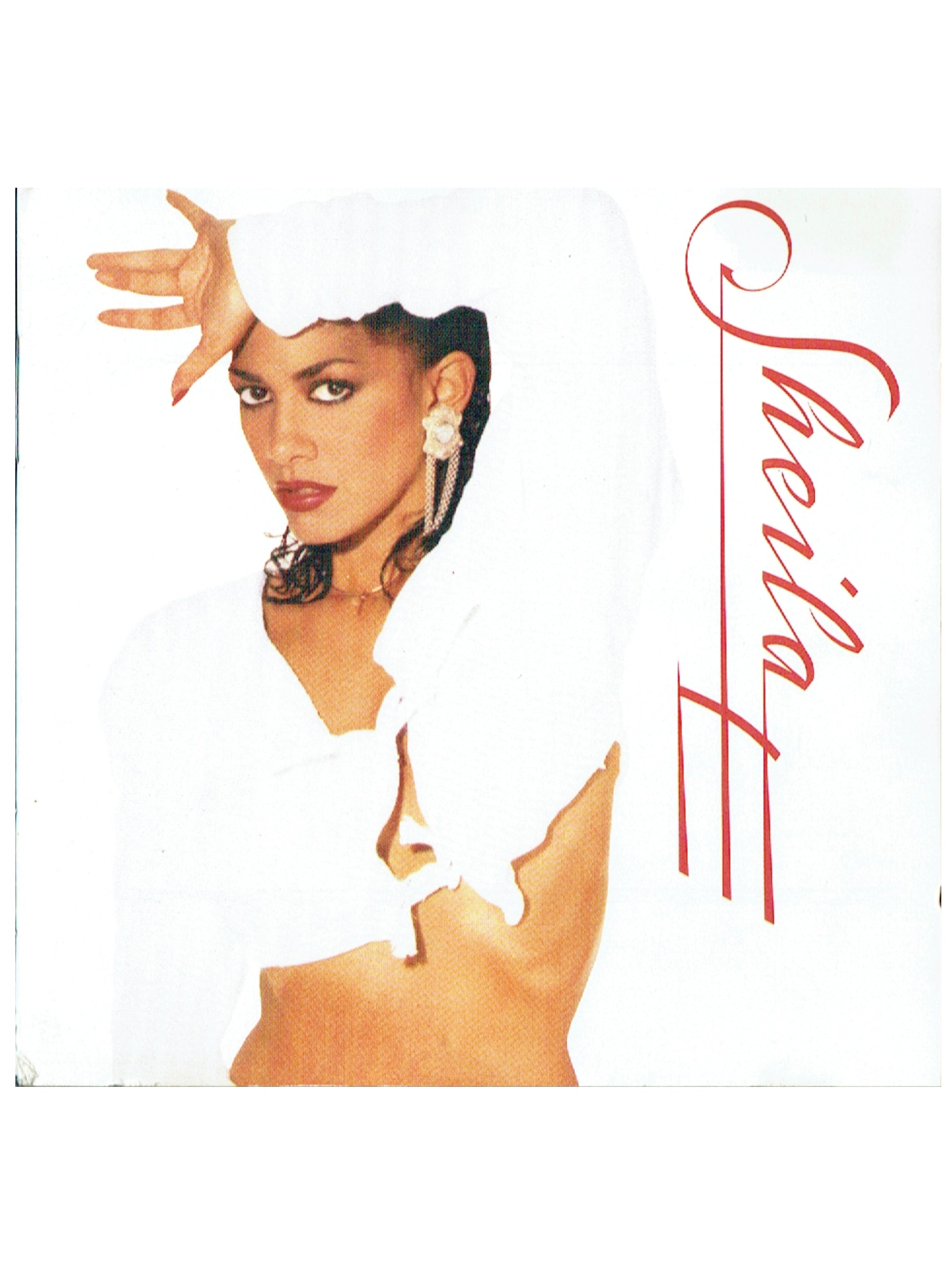 Sheila E Self Titled CD Album 1987 Release UK EU Paisley Park Prince