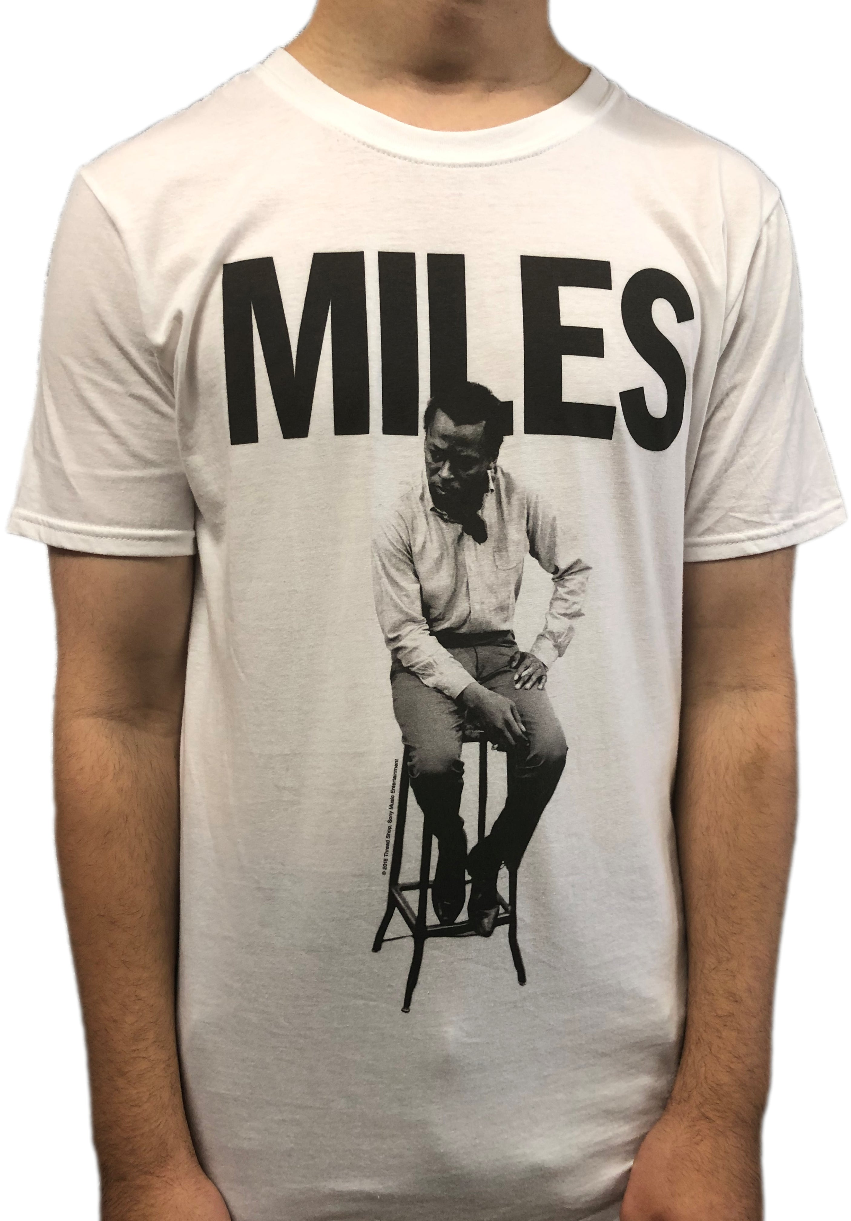 Miles Davis MILES Unisex Official T Shirt Brand New Various Sizes Blue Note Prince
