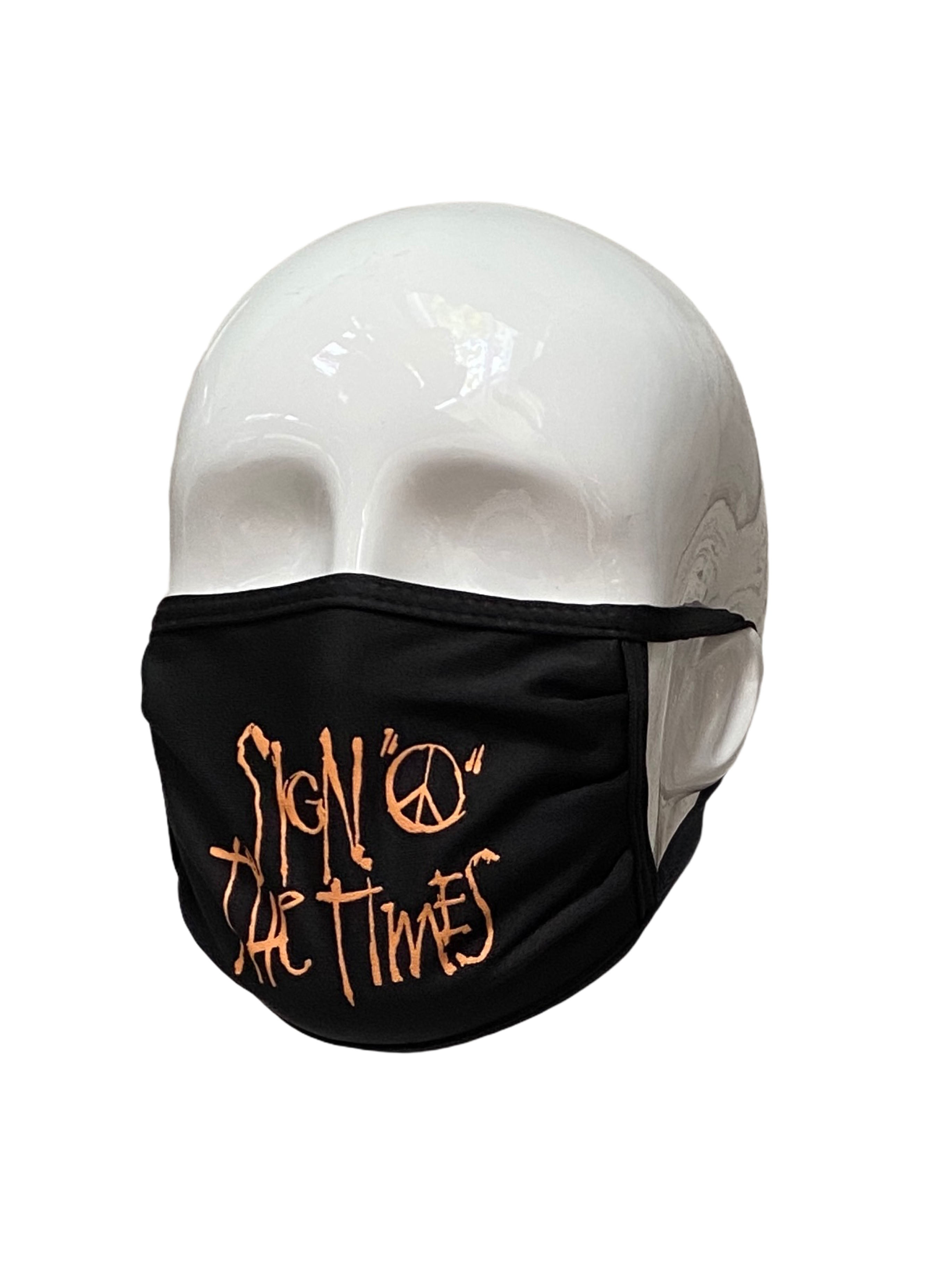 Official Sign O The Times Paisley Park Merchandise Face Mask Brand New Prince