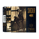 Sheila E Sex Cymbal Mix  UK CD Single 1991 4 Tracks Prince