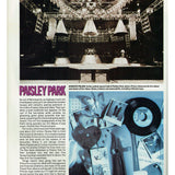 Prince Sky Magazine Christmas 1989 Inside Paisley Park 6 Page Article SUPERB
