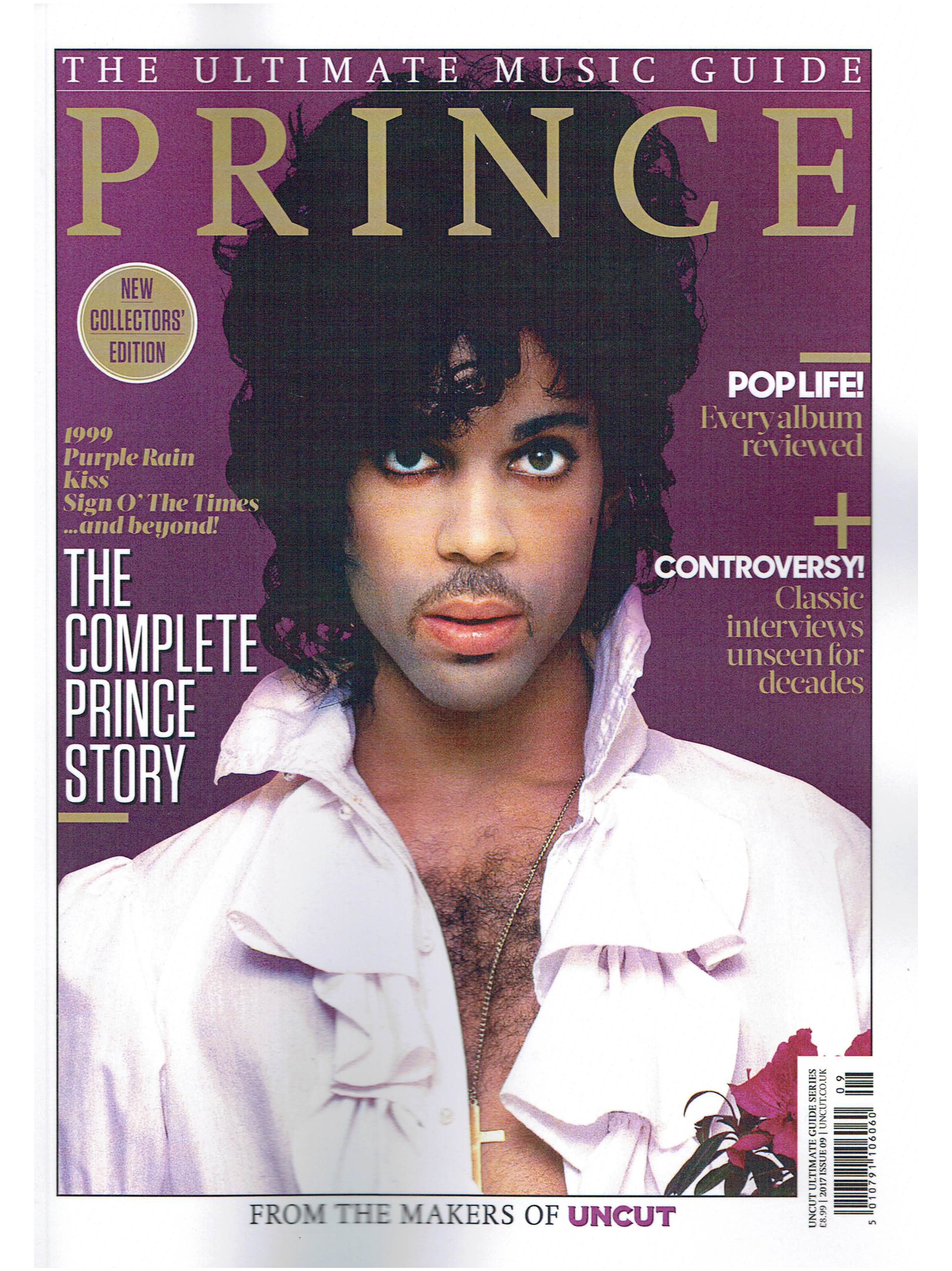 Prince Ultimate Music Guide Bookazine 2017 All Prince 120 Pages NEW