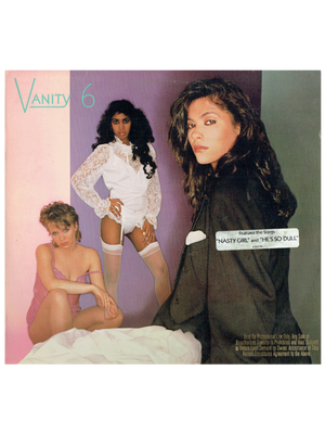 Vanity 6 Self Titled Vinyl Album USA 1982 Release 8 Tracks Prince HYPE & GOLD ST