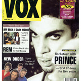 Prince Vox Magazine June 1993 Cover & 4 Page Article