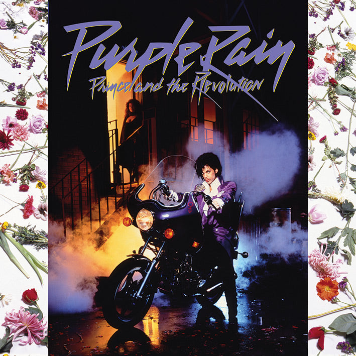 Prince & The Revolution Purple Rain Official Canvas Print Brand New 40 x 40 cm