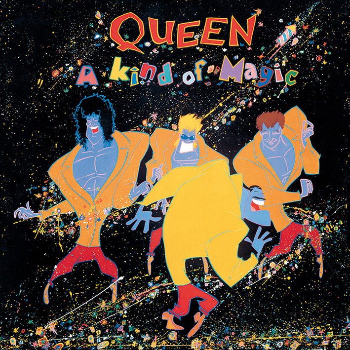 Queen A Kind Of Magic Official Canvas Print Brand New 40 x 40 x 3.8 cm