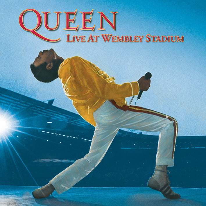 Queen Wembley Freddie Mercury Official Canvas Print Brand New 40 x 40 x 3.8 cm