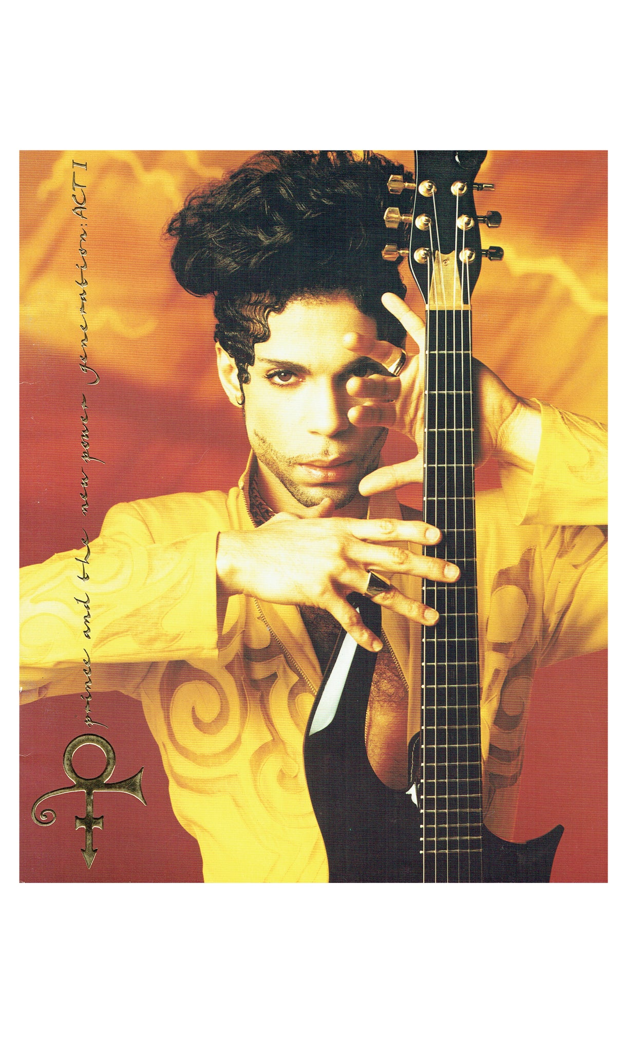 Prince & The New Power Generation ACT 1 World Tour Book SMS