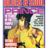 Prince Blues & Soul Magazine June / July 1987 Prince Cover & 3 Page Article
