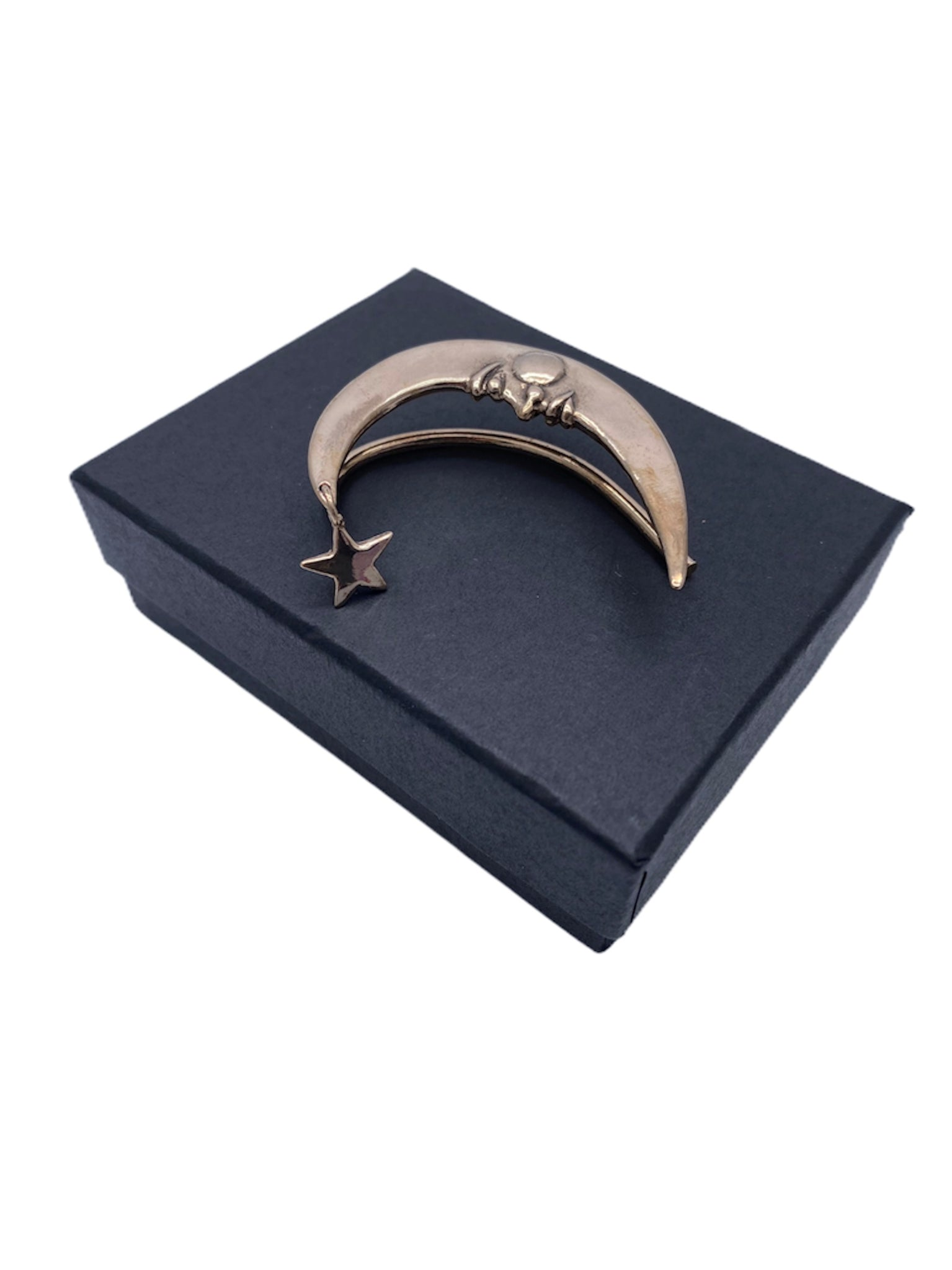 Crescent Moon Bronze Marty Magic Ear / Cuff Wrap Left Or Right Prince
