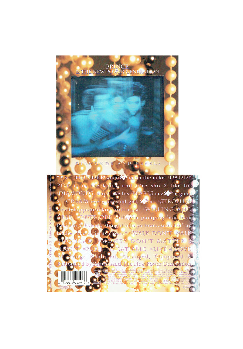 Prince Diamonds & Pearls Holographic Sleeve CD Album 1991 Original
