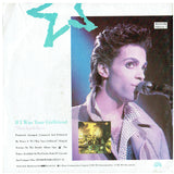 Prince If I Was Your Girlfriend UK 7 Inch Vinyl 1987 Original Poster Bag