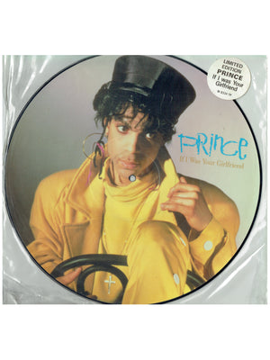 Prince If I Was Your Girlfriend Vinyl 12 Inch Picture Disc With Hype