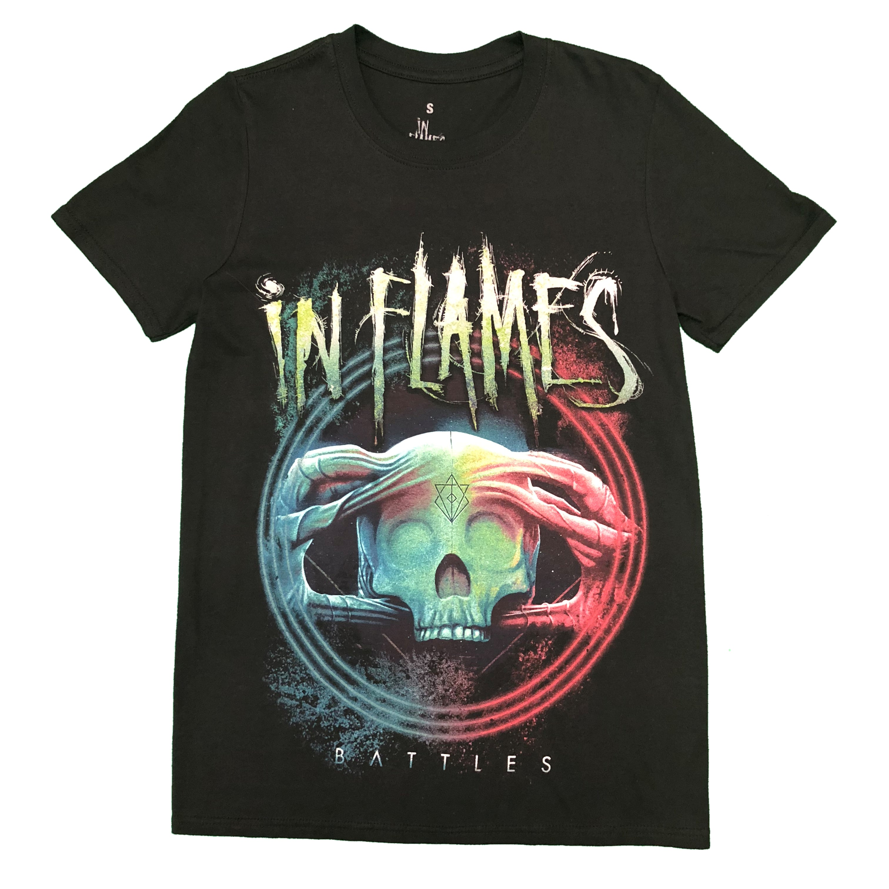 In Flames Battles Unisex Official Tee Shirt Brand New Various Sizes