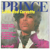 Prince Little Red Corvette Horny Toad UK 7 Inch Vinyl Single Posterbag 1983