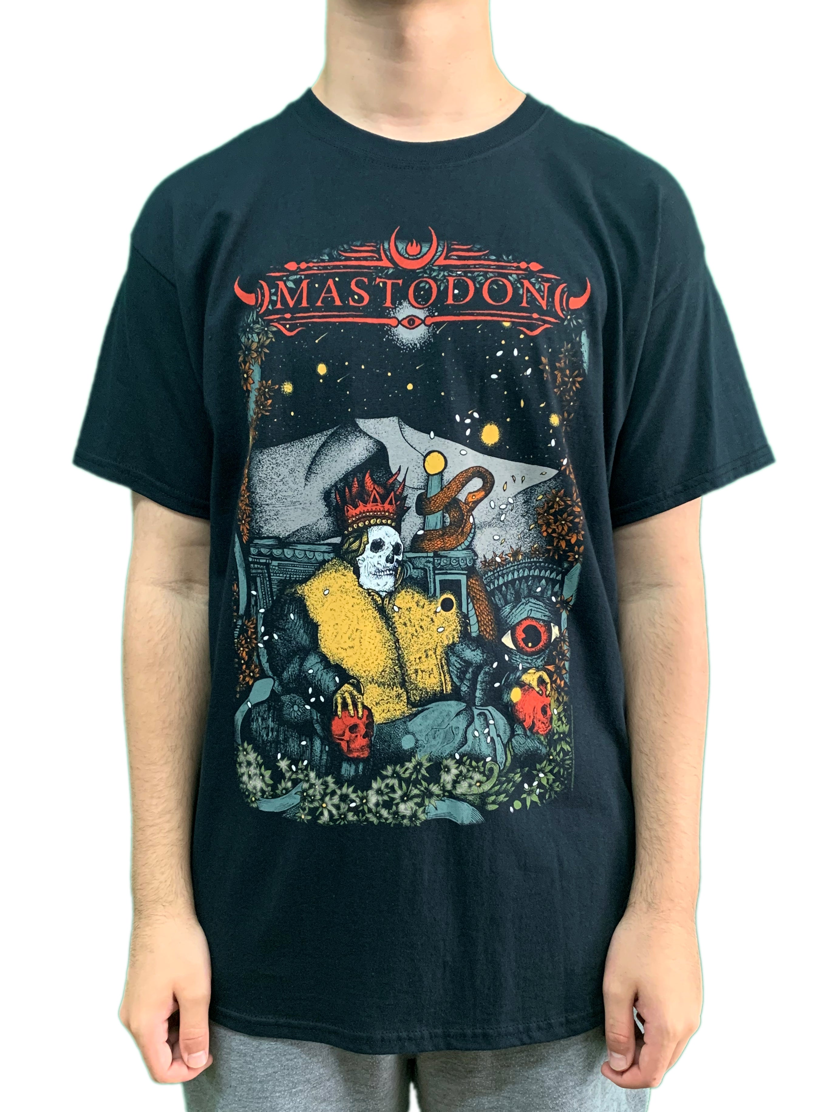 Mastodon Seated Unisex Official T Shirt Brand New Various Sizes