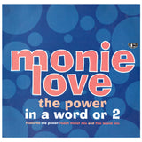Monie Love The Power In A Word Or 2 UK 12 Inch Vinyl Maxi Single Produced Prince