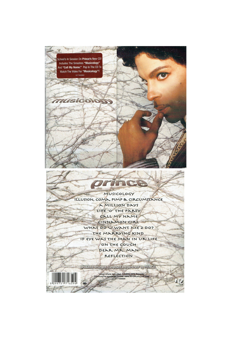 Prince Musicology Original CD Album 12 Tracks Digi Sleeve & Booklet
