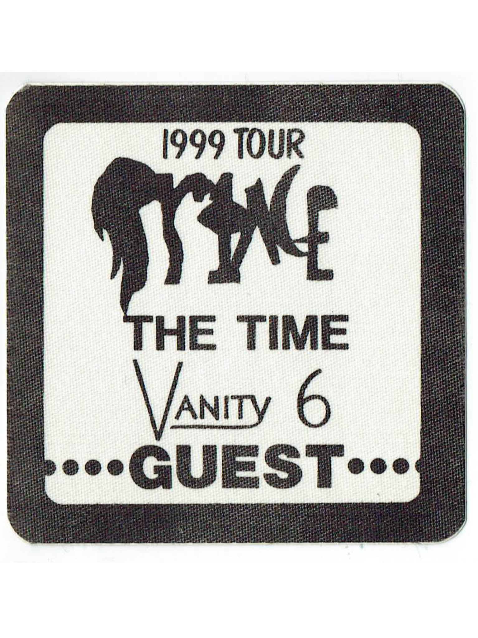 Prince Vanity 6 The Time Official Otto Cloth Patch Unused As New Guest