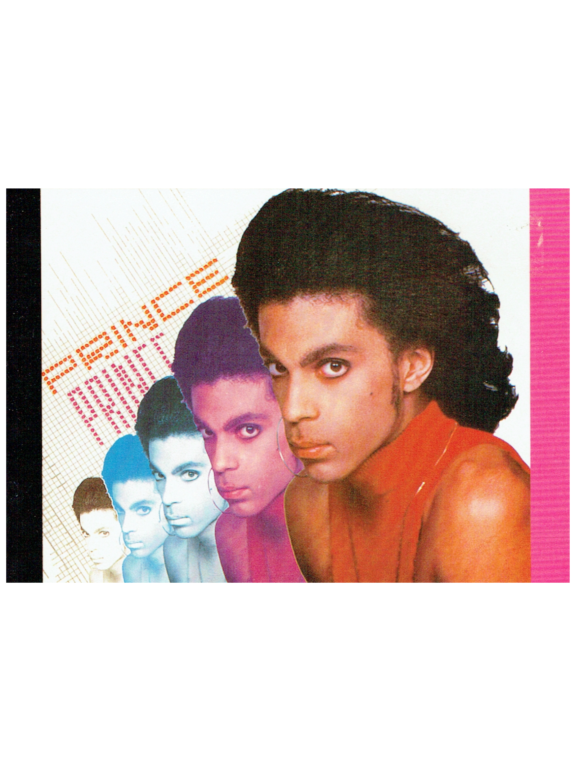 Prince Postcard Original Printed In England Lovesexy Multi
