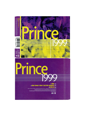 Prince 1999 How Come DMSR CD Single 3 Track 1998 Release IB