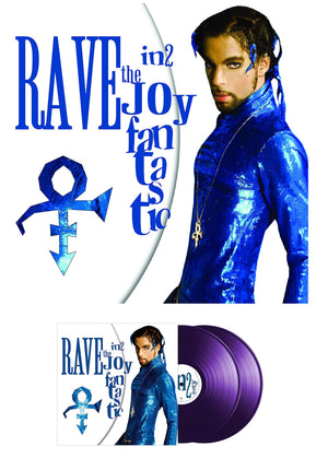 Prince Rave In2 The Joy Fantastic 2 Purple Vinyl Set Released April 26th 2019