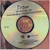 Prince She Loves Me 4 Me Rainbow Children Promotional CD Single IB