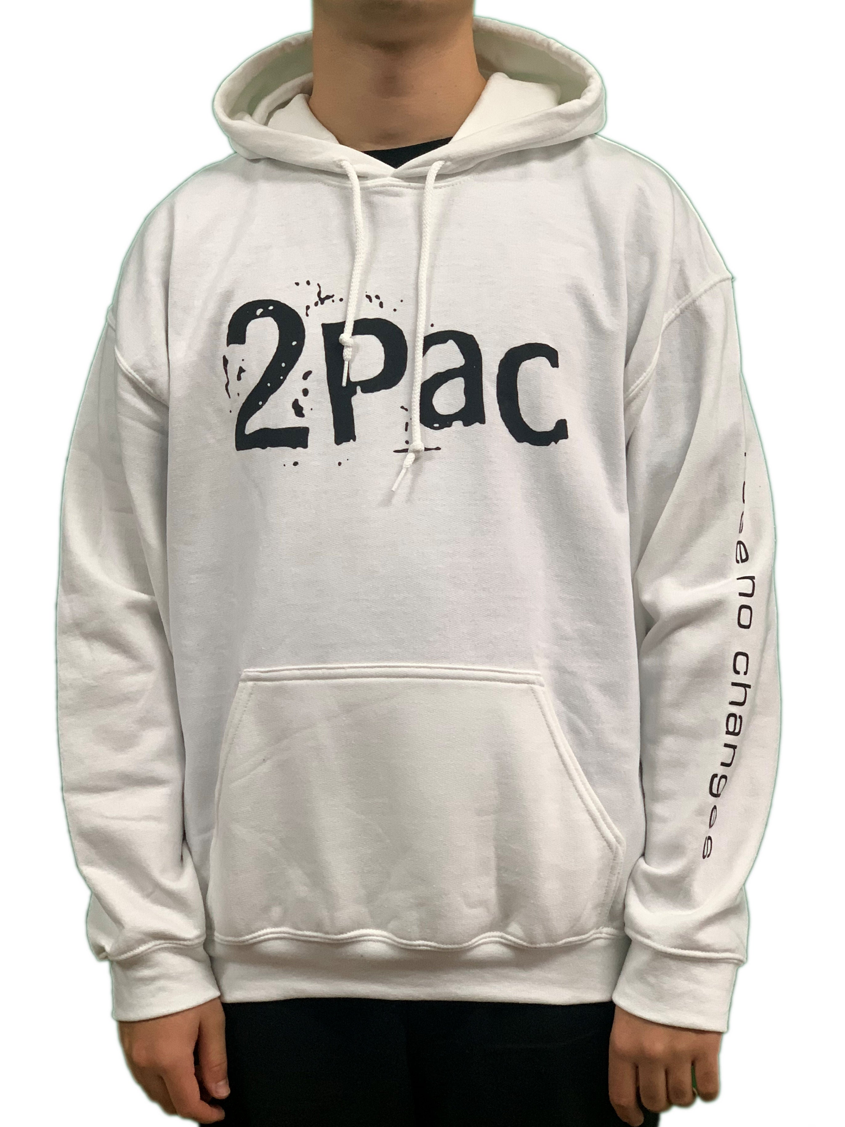 Tupac I See No Changes Pullover Hoodie Unisex Official Brand New Various Sizes