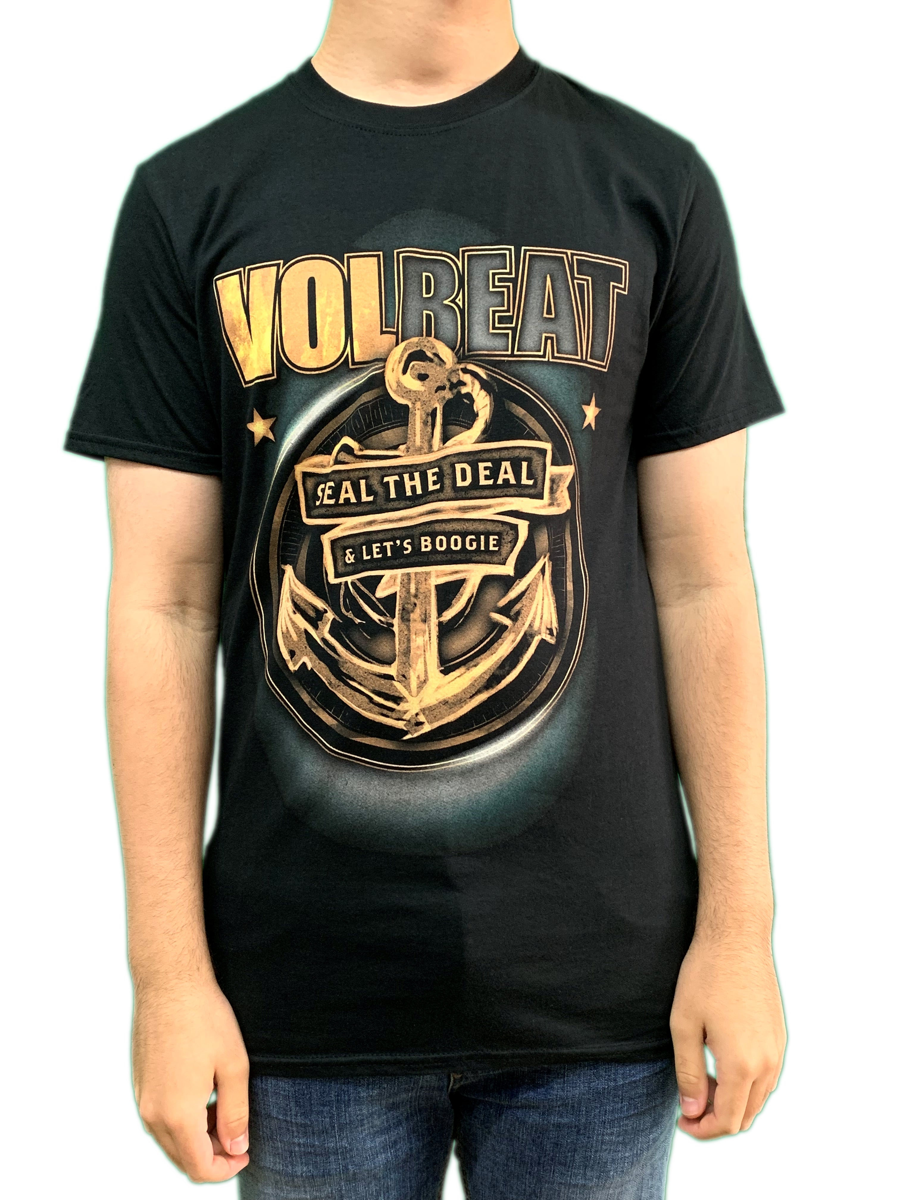 Volbeat Anchor Unisex Official T Shirt Brand New Various Sizes