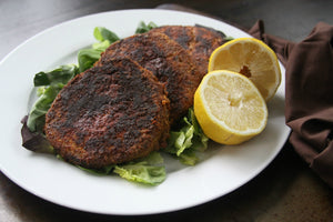 Blackened Salmon Burgers | Whole30 Compliant & Paleo