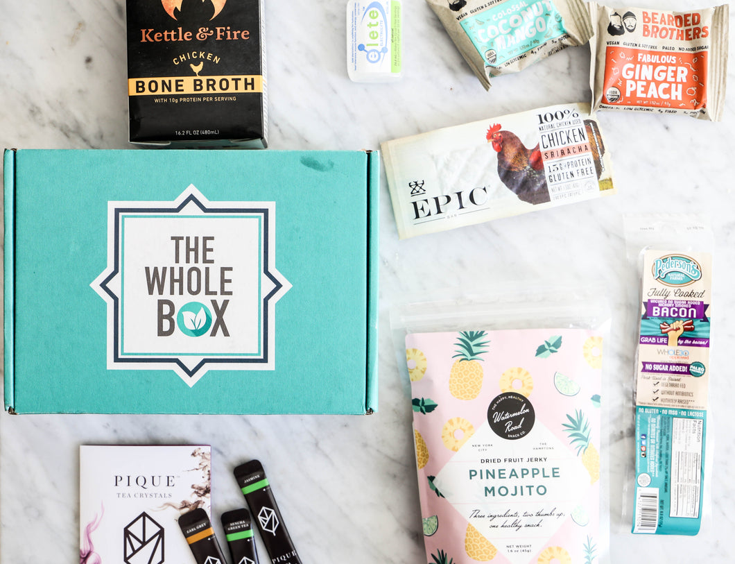 The WholeBox Subscription Yearly