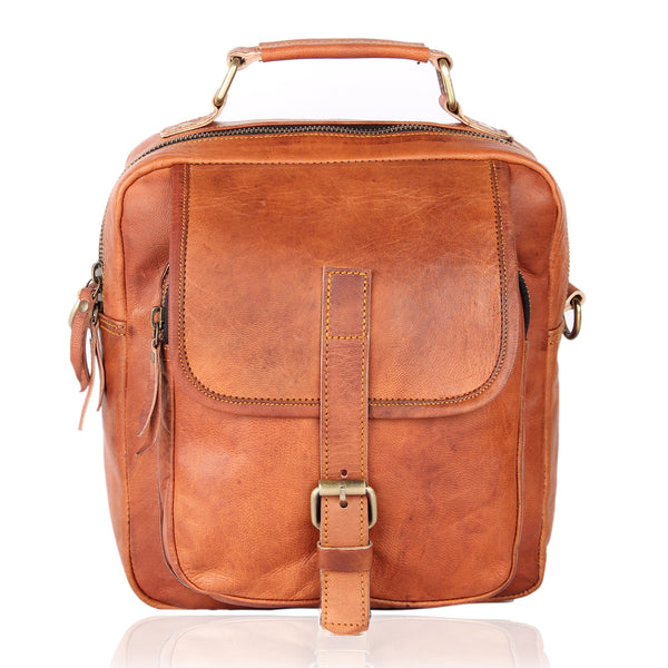 NEW Men's Genuine Vintage Brown Briefcase