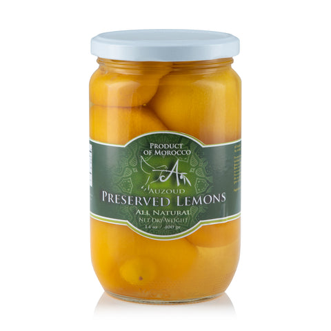 Auzoud All-Natural Preserved Lemons, 210g