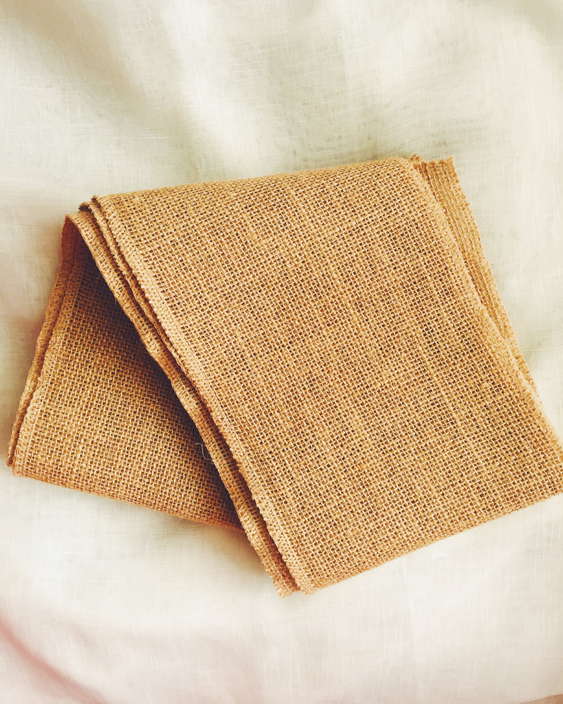 Burlap Hessian Roll Unfolded