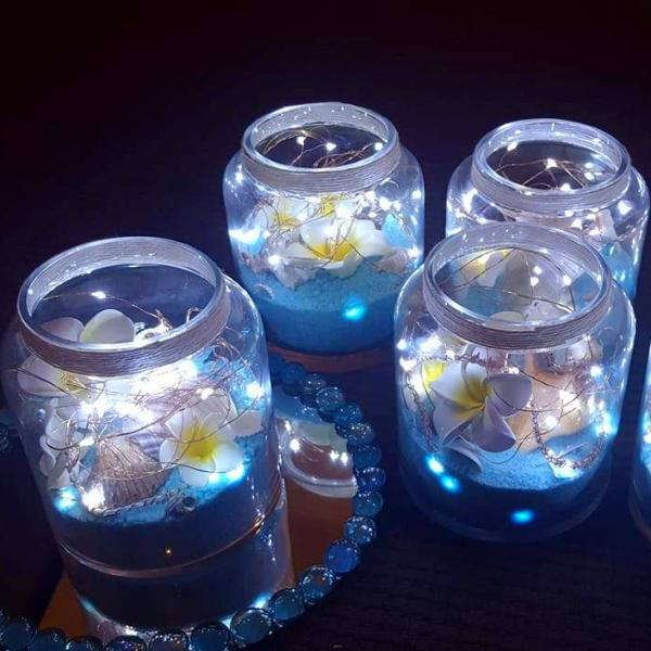 Copper Fairy Lights 2M 20 LEDs With Batteries