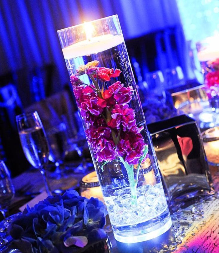 Remote Controlled Waterproof Centrepiece Vase Light LED Stand