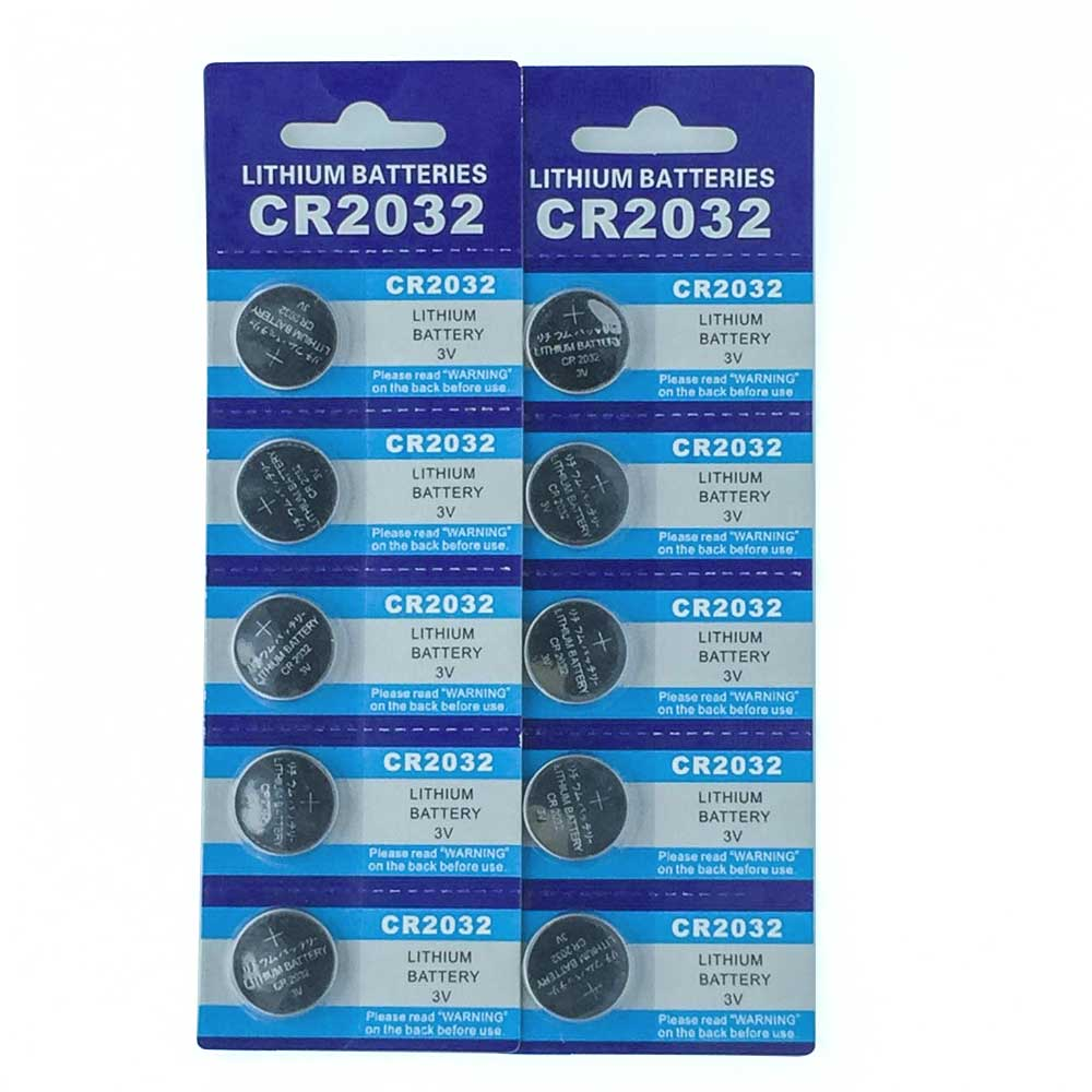 10pcs CR2032 Button Batteries For Twinkle Fairy lights