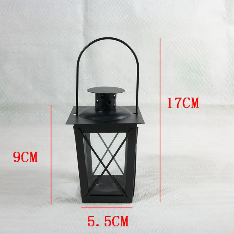Classic Box Lantern with Handle Dimensions (17 x 5.5 cm)