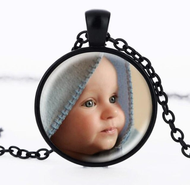 Photo memory charm pendant - Send us your pic!